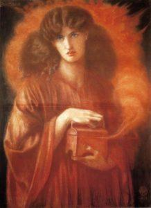 Πανδώρα, Dante Gabriel Rossetti, 1869