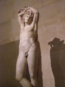 «Ερμαφρόδιτο», 3ος αι. π.Χ., Μουσείο του Λούβρου