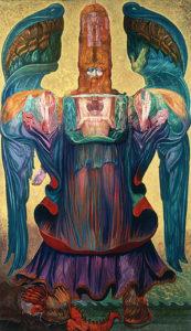 Έργο του Ερνστ Φουκς, Ο Άγγελος της Ιστορίας, 1992