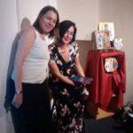 With Christina Oakley-Harrington of Treadwell's Bookshop